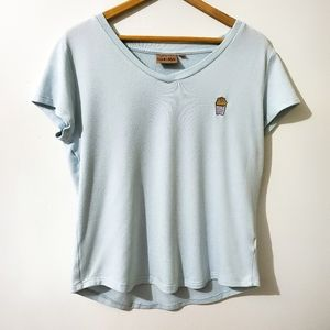 HARLOW Tee Fries Before Guys Size M